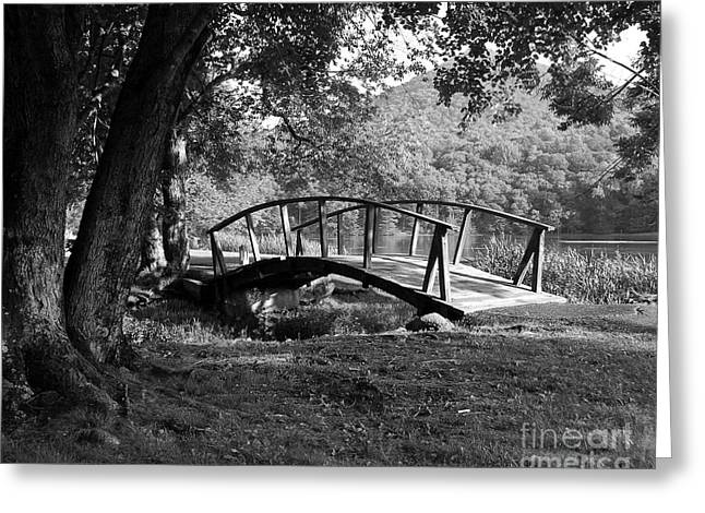 Bridge To Nowhere  2 Greeting Card by Mel Steinhauer