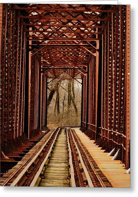 Bridge To Nowhere Greeting Card by David Mace