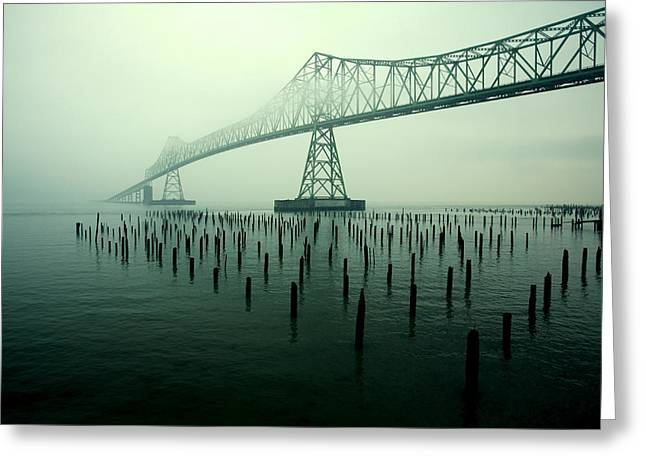 Bridge To Nowhere Greeting Card by Todd Klassy