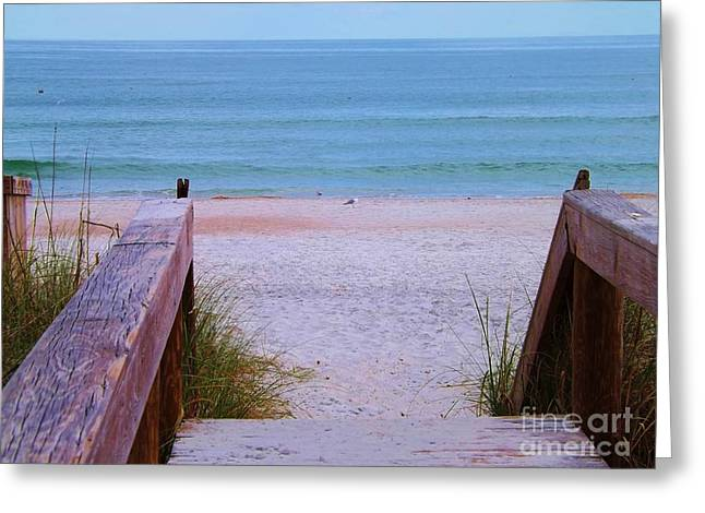 Bridge To The Sea Greeting Card