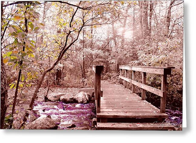Bridge To Utopia  Greeting Card