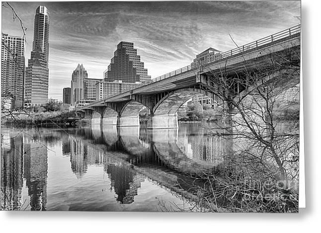 Bridge Toward Austin Greeting Card
