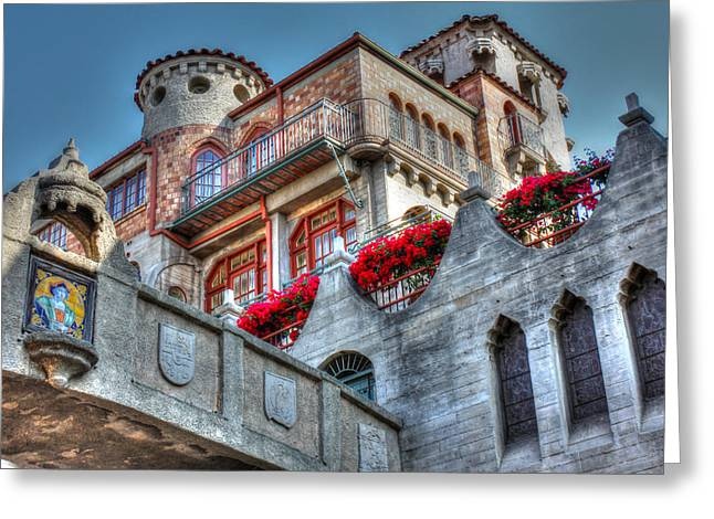 Bridges And Balconies Hdr Greeting Card by Richard Stephen