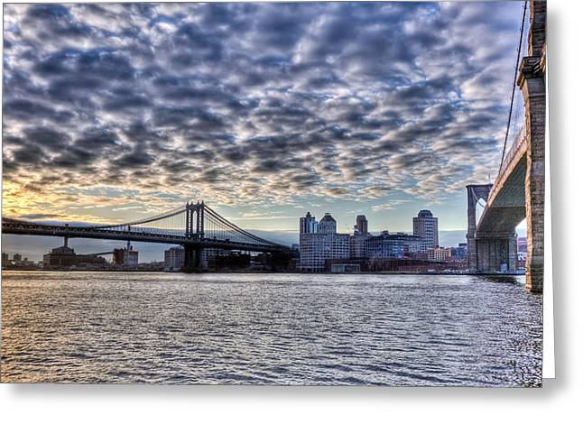 Bridges Of New York Greeting Card