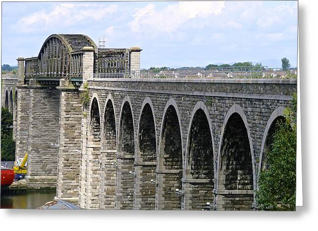 Bridging The Boyne Greeting Card