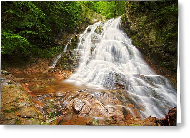Bridle Veil Falls Greeting Card