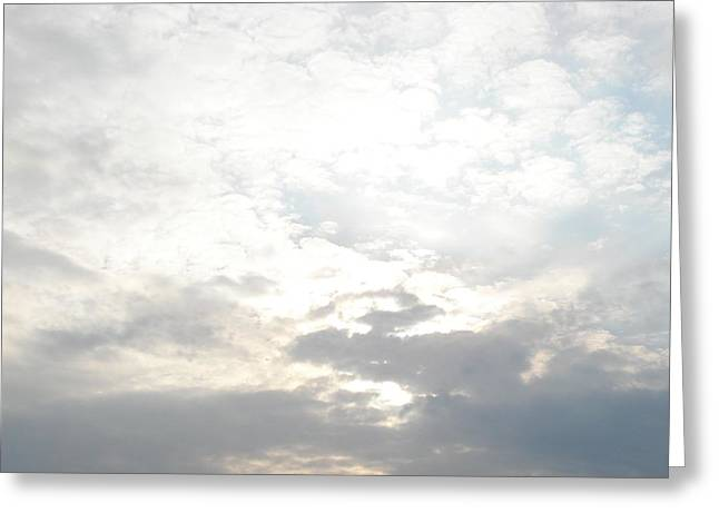Bright Clouds Greeting Card