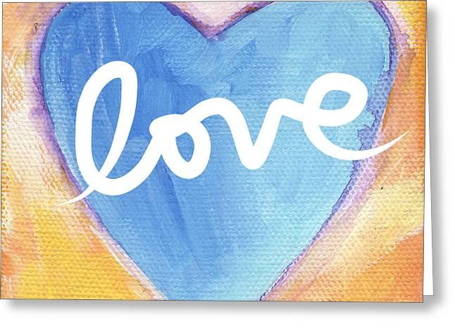 Bright Love Greeting Card