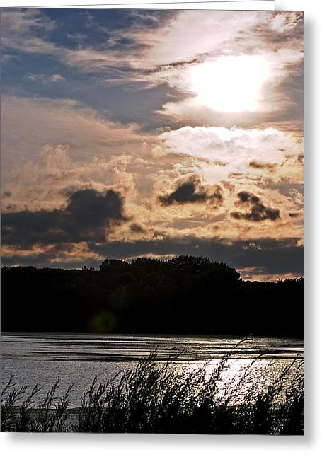 Bright Sun Greeting Card by Mark Russell