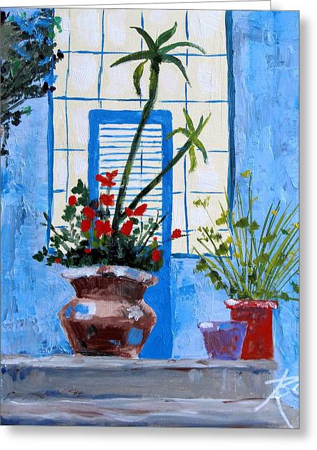 Bright Window Greeting Card