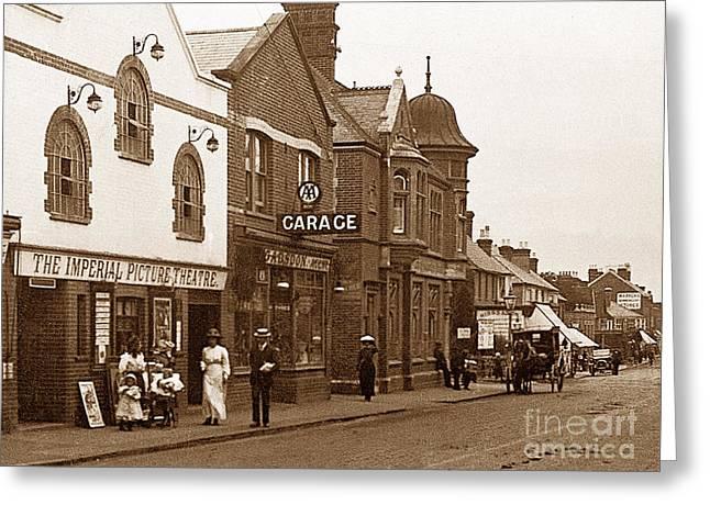 Brighton Road Crawley England Greeting Card by The Keasbury-Gordon Photograph Archive