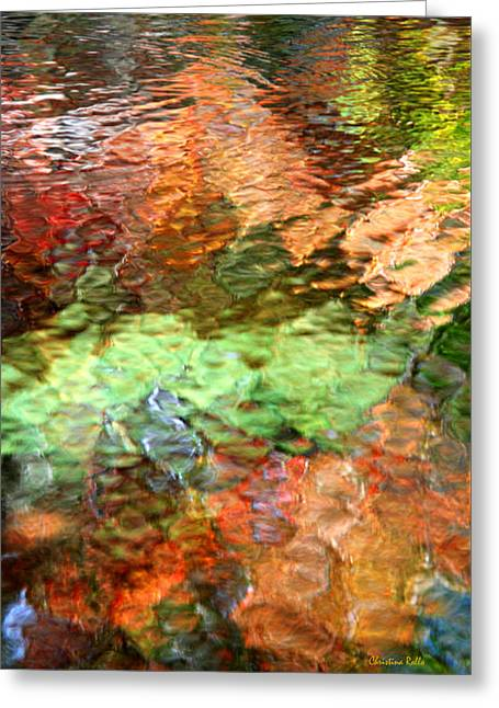 Brilliance Greeting Card by Christina Rollo