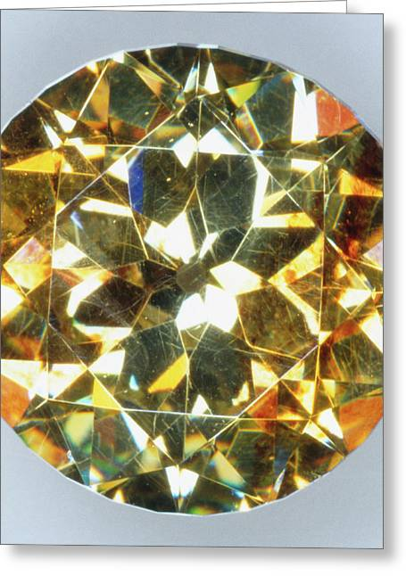 Brilliant-cut Sphalerite Greeting Card by Dorling Kindersley/uig