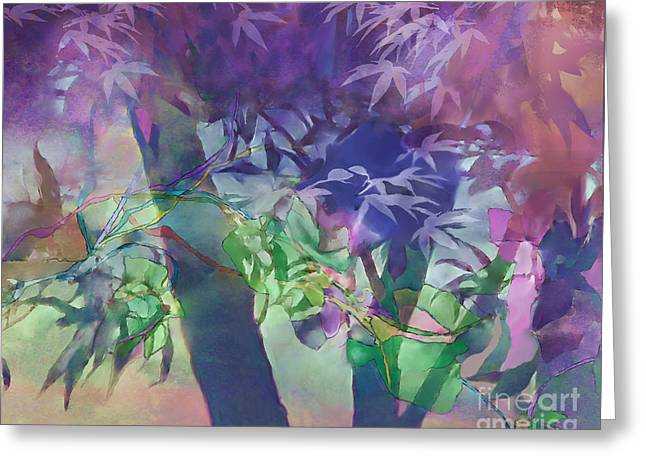 Greeting Card featuring the digital art Brilliant Sunrise by Ursula Freer