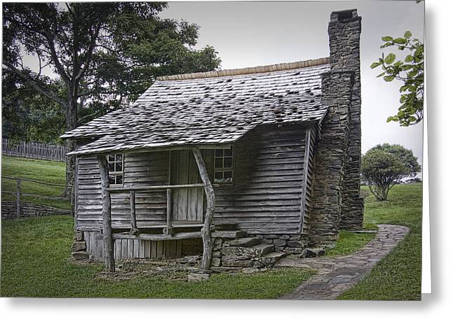 Brinegar Cabin In The Blue Ridge Parkway Greeting Card