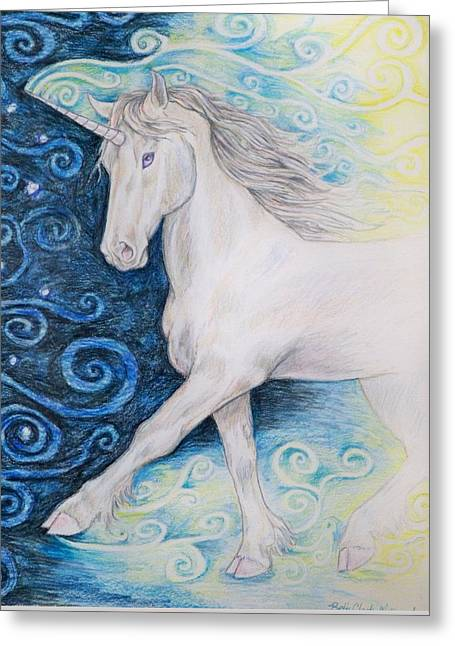 Bringer Of The Dawn Greeting Card by Beth Clark-McDonal