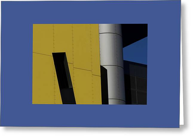 Brisbane Square Abstract 1 Greeting Card