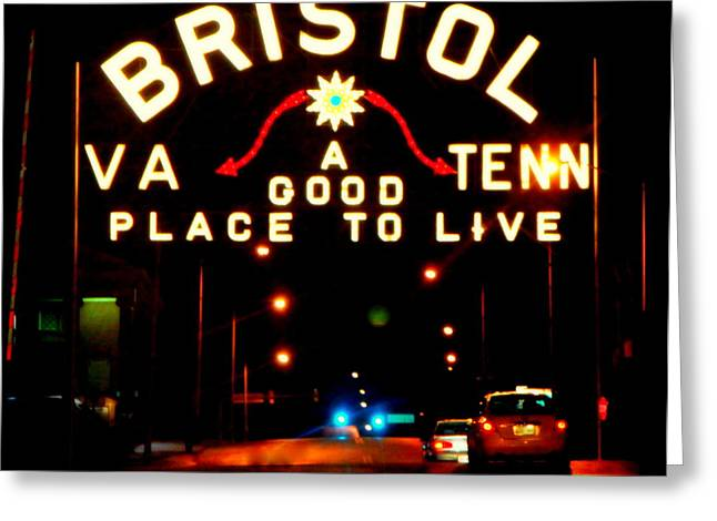 Bristol Greeting Card by Karen Wiles