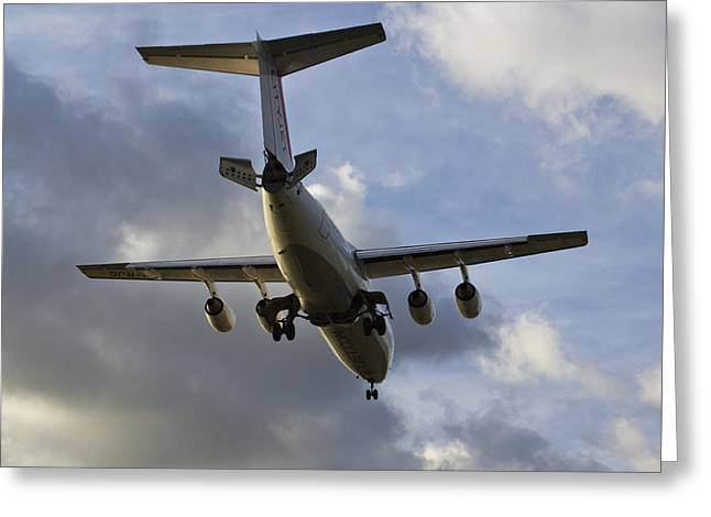 British Aerospace Bae 146 Greeting Card
