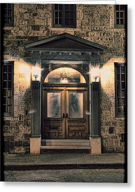 British - Jack The Ripper's Doorway IIi Greeting Card by Lee Dos Santos