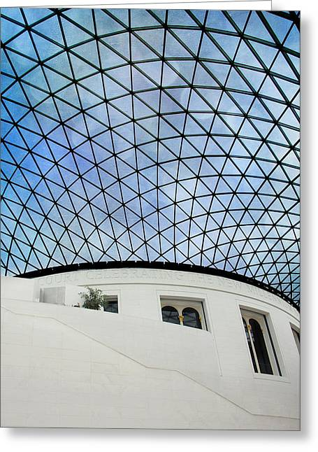 British Museum Greeting Card by Stephen Norris