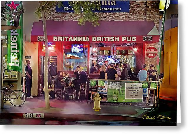 British Pub Greeting Card