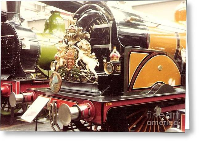 British Royal Engine Greeting Card