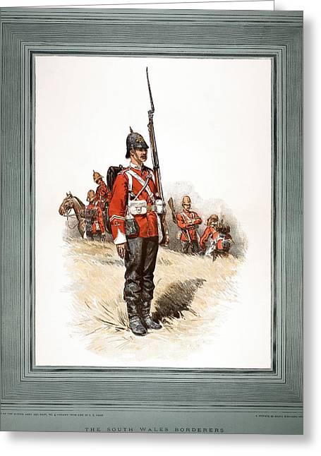British Soldier, 1887 Greeting Card