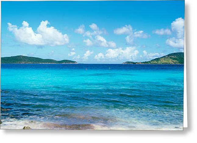British Virgin Islands, St. John, Sir Greeting Card by Panoramic Images