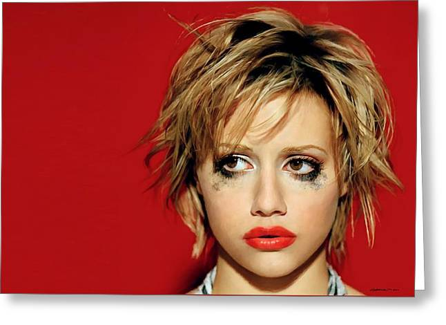 Brittany Murphy Tribute Greeting Card
