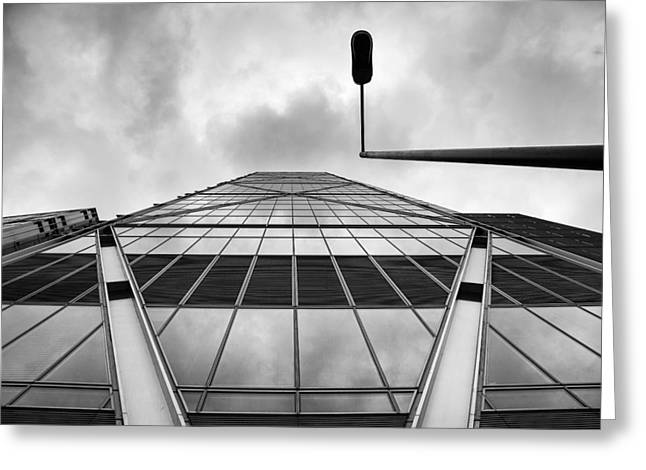 Broadgate Tower Greeting Card