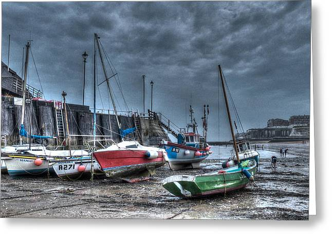 Broadstairs Harbour Greeting Card