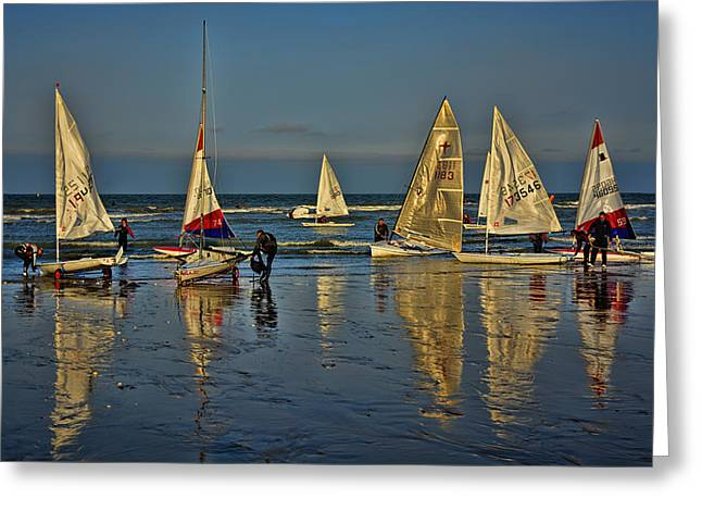 Broadstairs Sailing Greeting Card