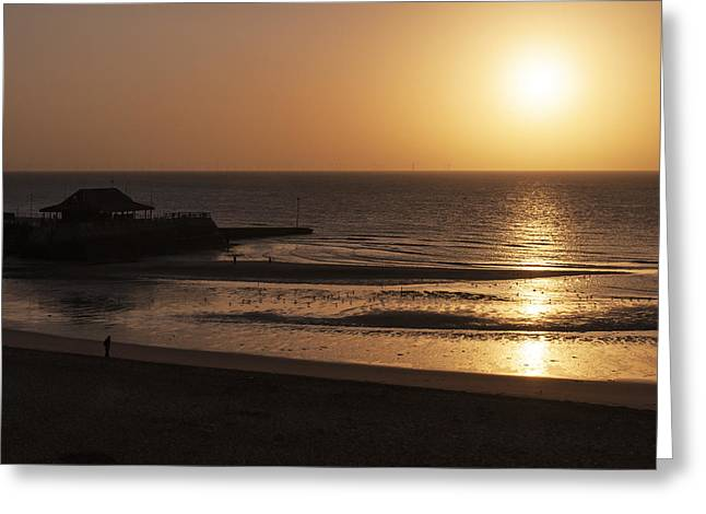 Broadstairs Sunrise Greeting Card