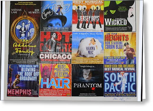Broadway's Favorites Greeting Card