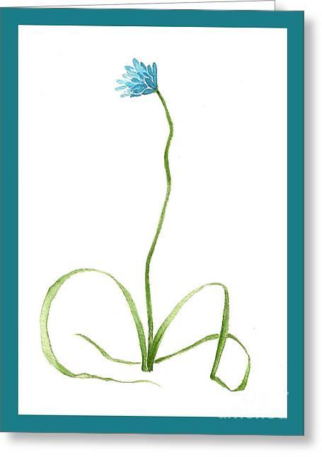 Brodiaea Flower Greeting Card