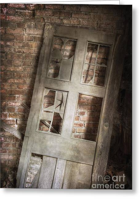 Broken And Broken Greeting Card by Margie Hurwich