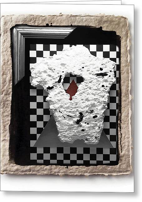 Broken Heart  Greeting Card by Mauro Celotti