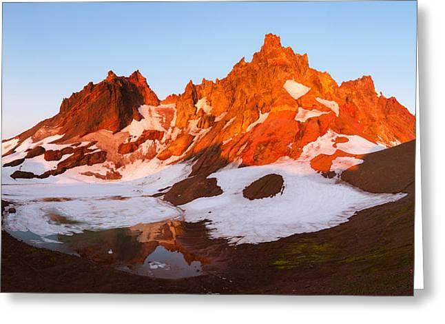 Broken Top Mt. Sunrise Greeting Card