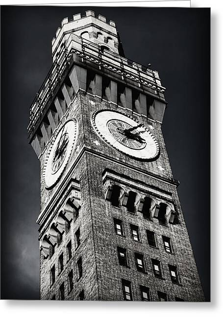 Bromo Seltzer Tower No 12 Greeting Card