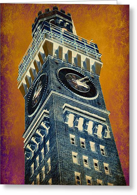 Bromo Seltzer Tower No 6 Greeting Card
