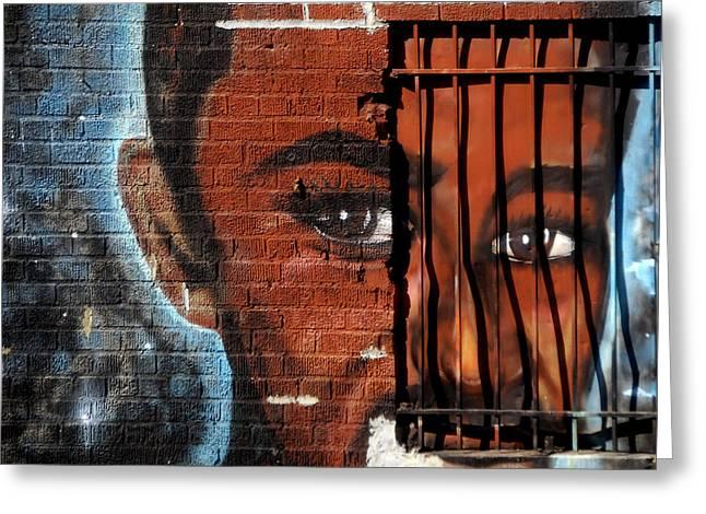 Bronx Graffiti - 2 Greeting Card by RicardMN Photography