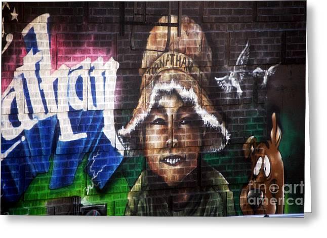 Bronx Graffiti. Jonathan Greeting Card by RicardMN Photography