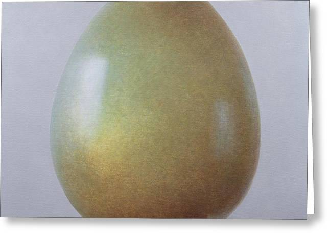 Bronze Age Egg  Greeting Card by Lincoln Seligman