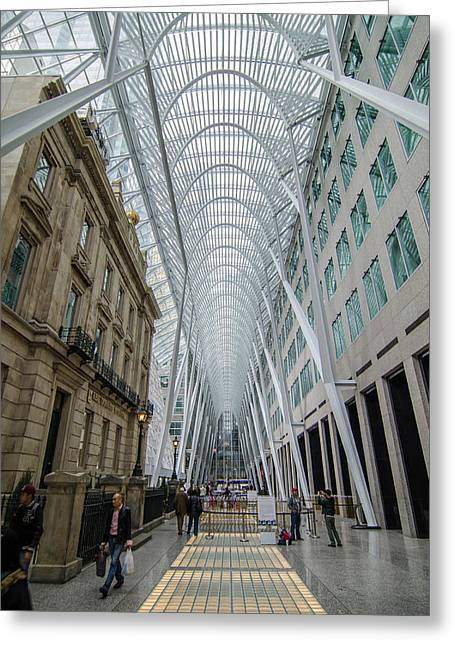 Brookfield Place 1149 Greeting Card by Guy Whiteley