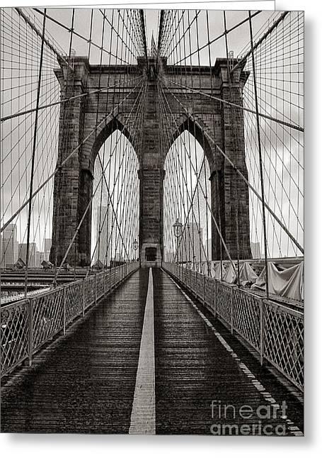 Brooklyn Bridge 3 Greeting Card
