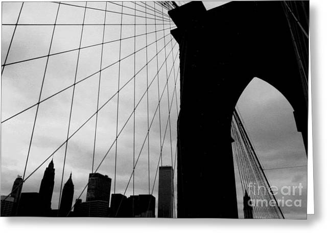 Brooklyn Bridge No.2 Greeting Card