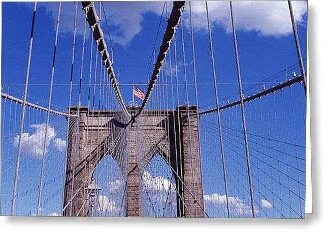 Brooklyn Bridge, Nyc, New York City Greeting Card