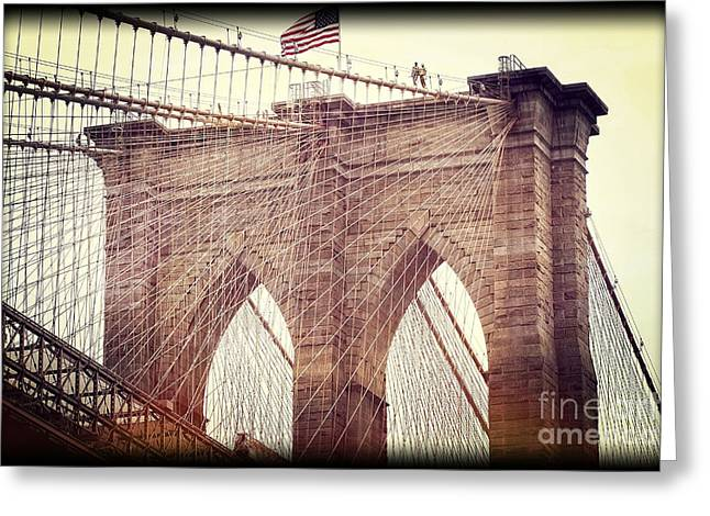 Greeting Card featuring the photograph Brooklyn Pride by Paul Cammarata
