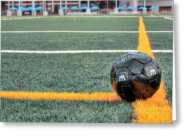 Brooklyn Soccer  Greeting Card